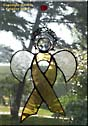Childhood Cancer Awareness Angel Ribbon