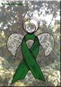 Kidney Cancer Awareness Angel Ribbon