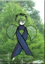 Lupus Awareness Angel Ribbon