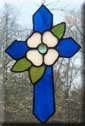 Dogwood Cross Blue